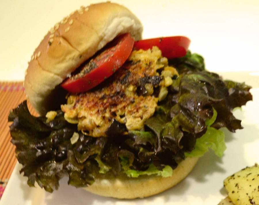 hamburguesavegetariana